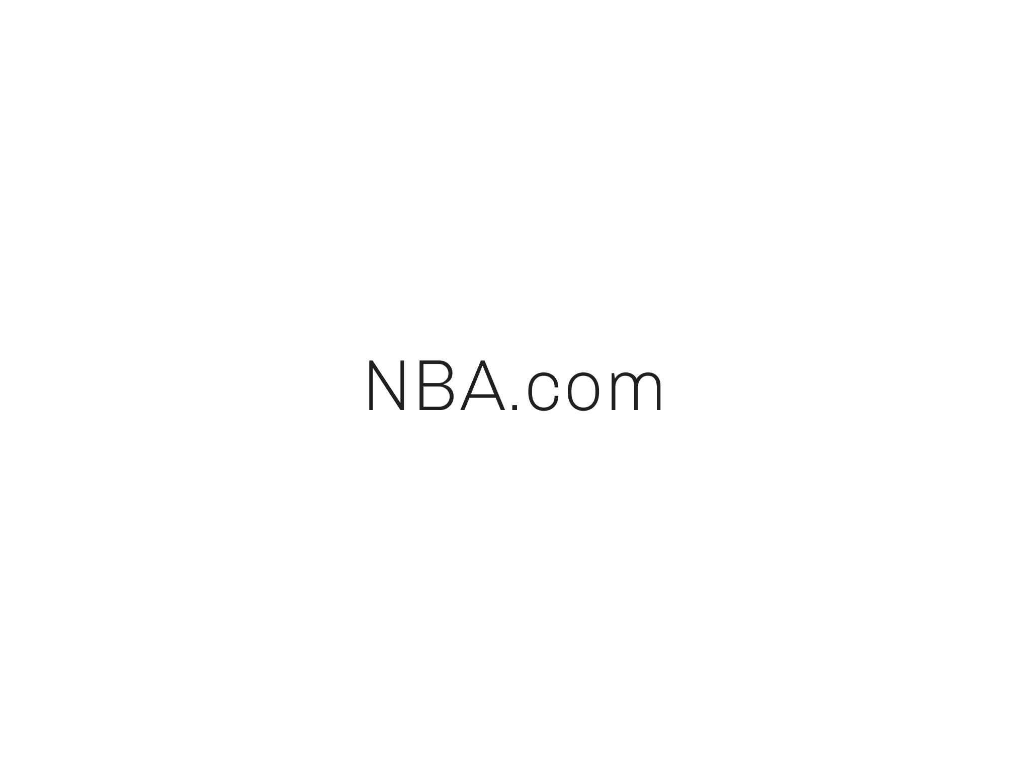 NBA Web