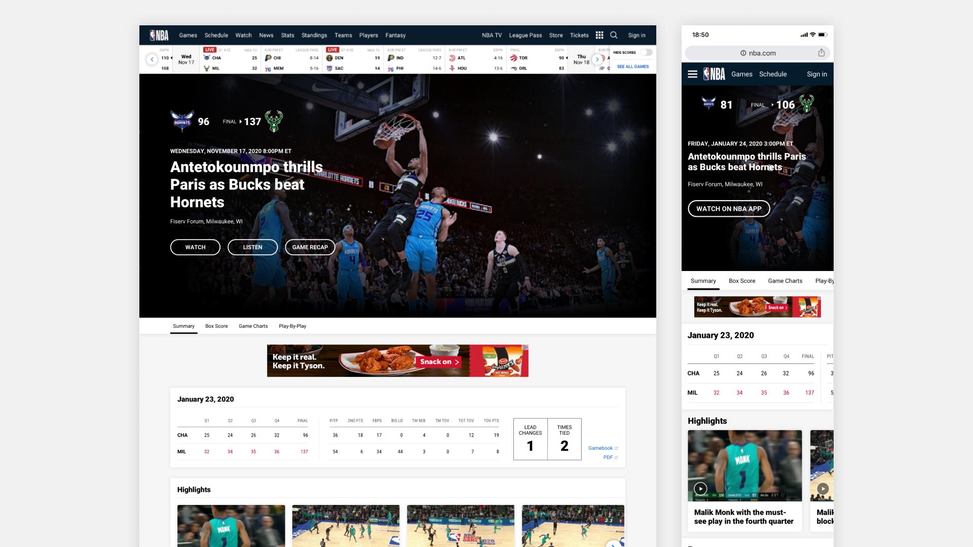 NBA Web 1