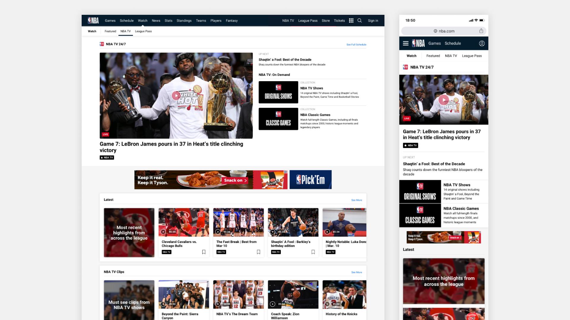 NBA Web 2