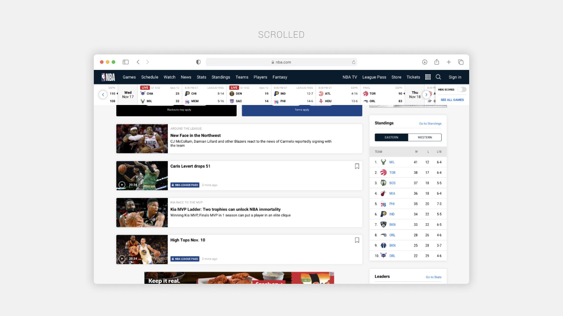 NBA Web 6